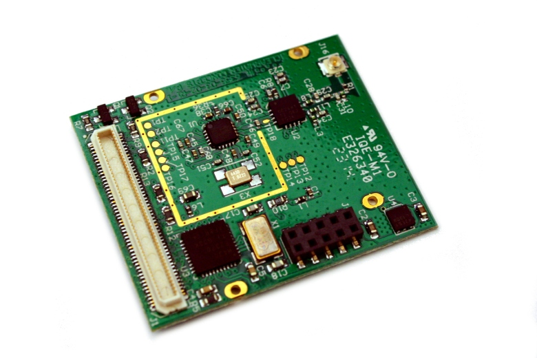 2.4 Ghz wireless radio module