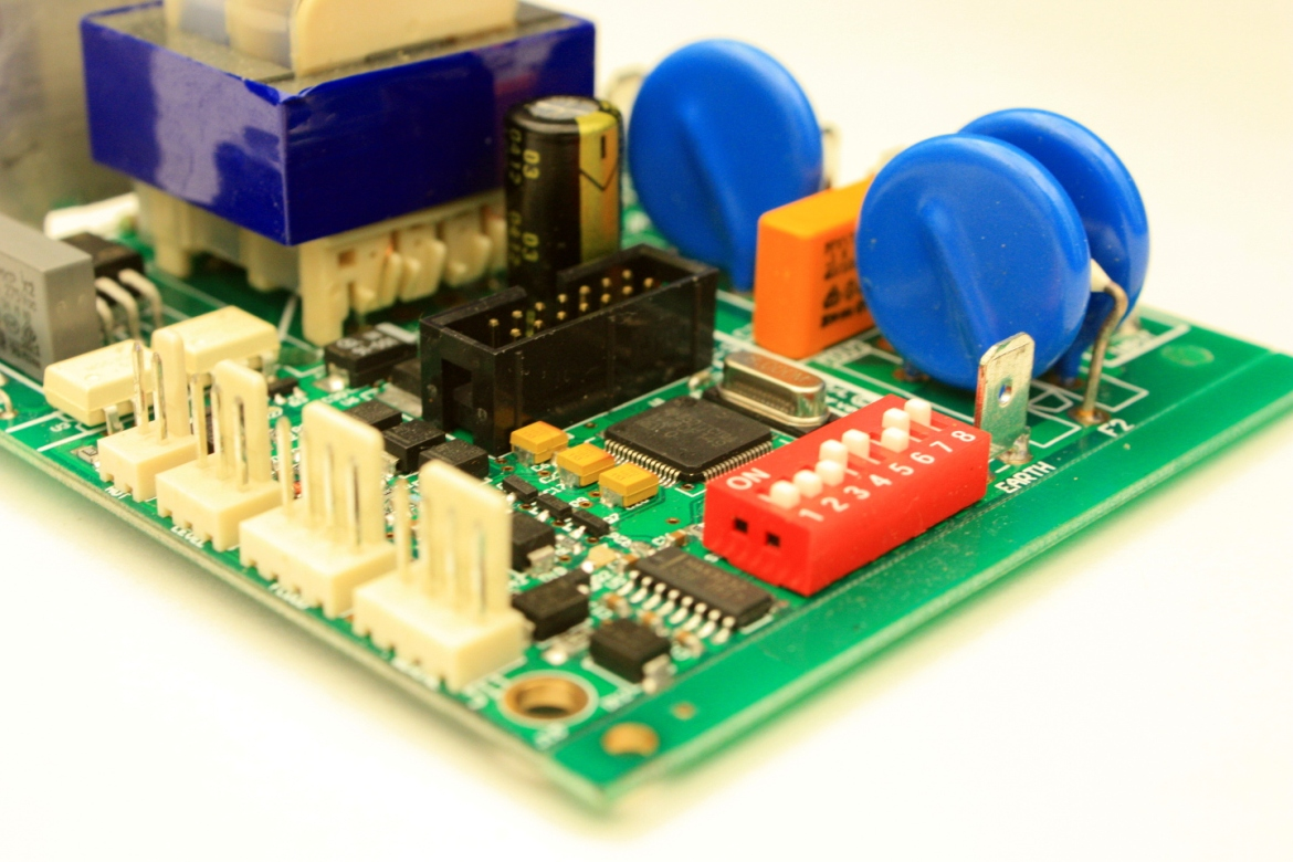 Instant hot water controller board with configurable settings