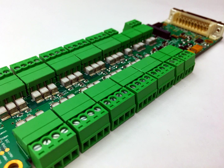 Multi input distribution board. Analog, Digital, RS485, SDI-12