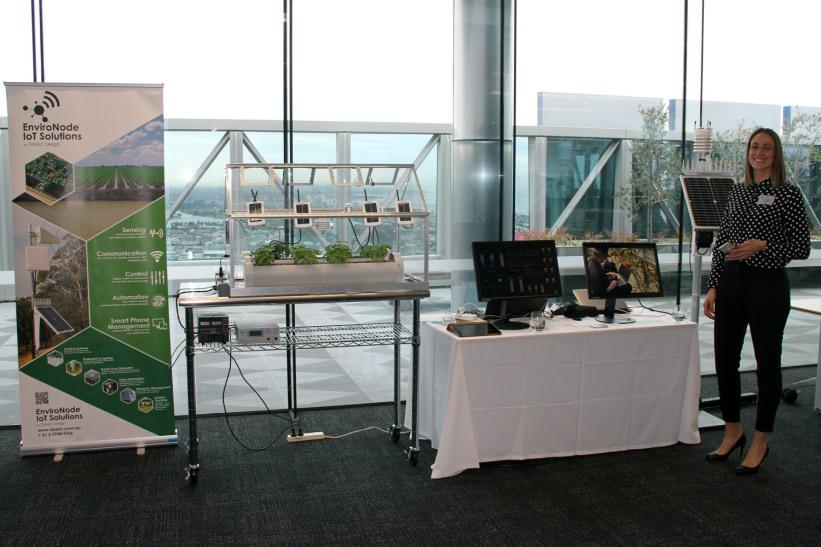 EnviroNode at KPMG IoT Innovation Expo